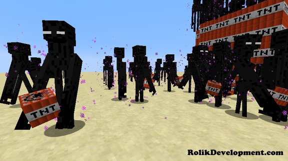 ender golem mutated mobs minecraft 1.12