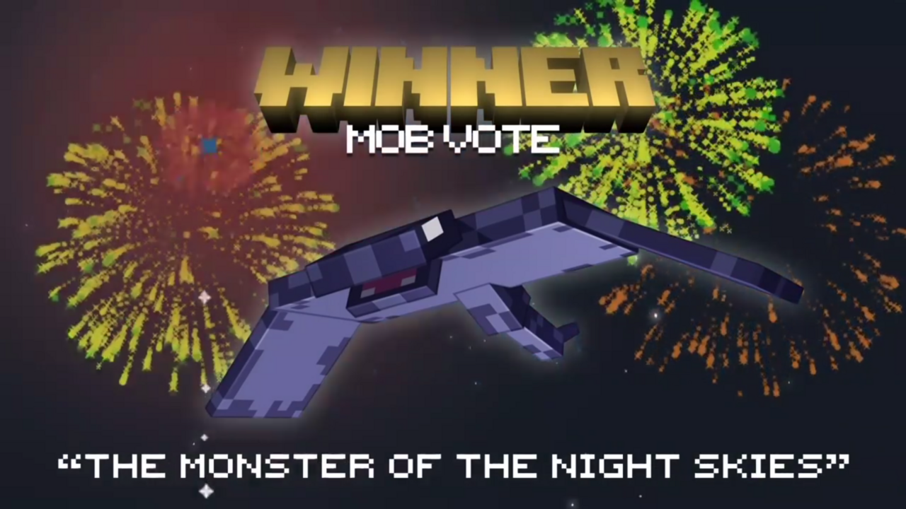 mob vote b minecraft 1.14