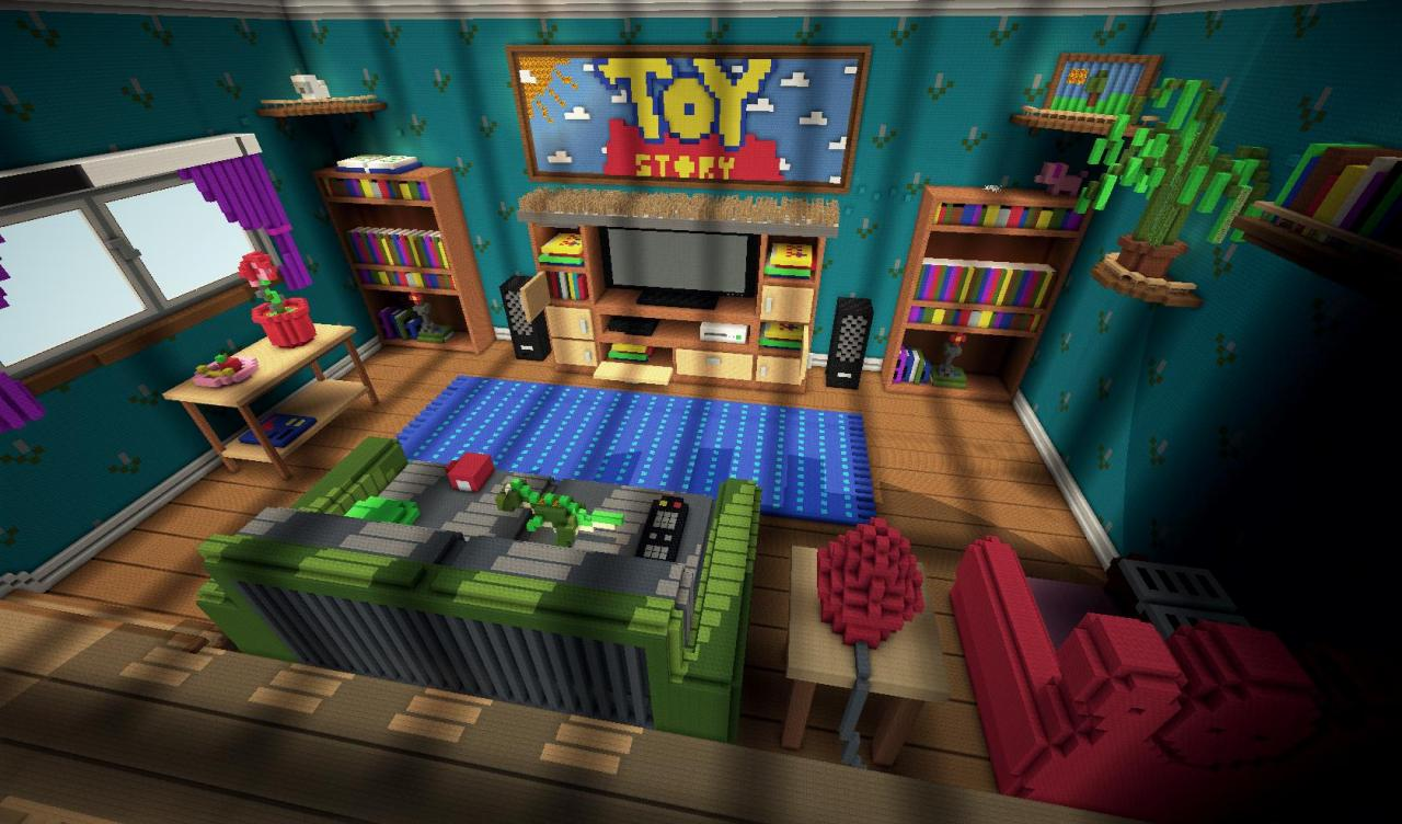 Toy Story 2 PL - Adventure Map - Minecraft