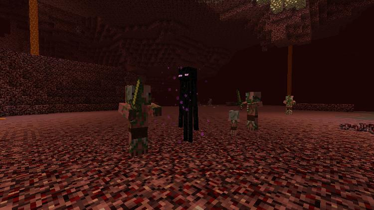 enderman w neterze minecraft 1.10