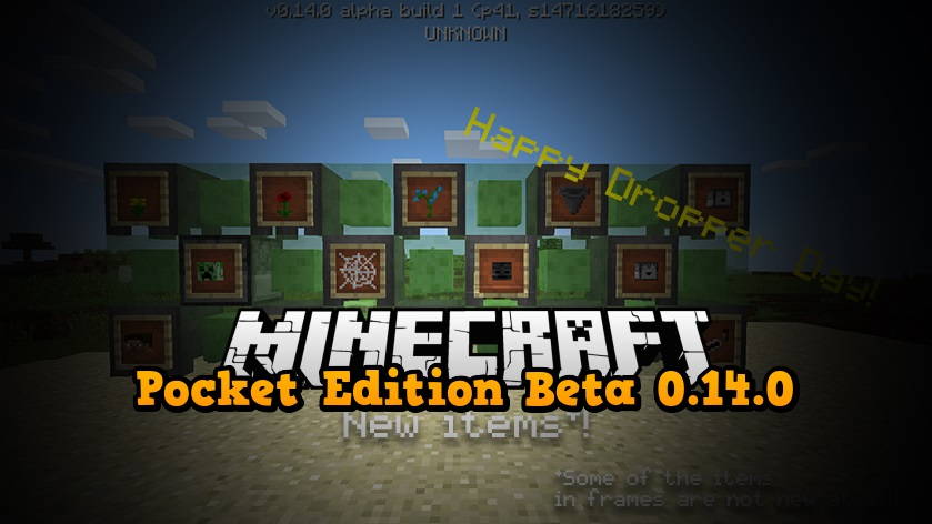 Pocket Edition 0.14.0 - Beta na Androida
