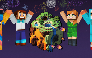 Minecon Earth - start 18:00 - darmowe skiny