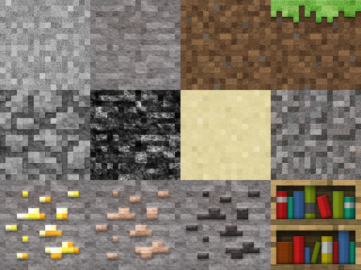 Zwykła tekstura minecraft wymięka przy r3d.craft default realism